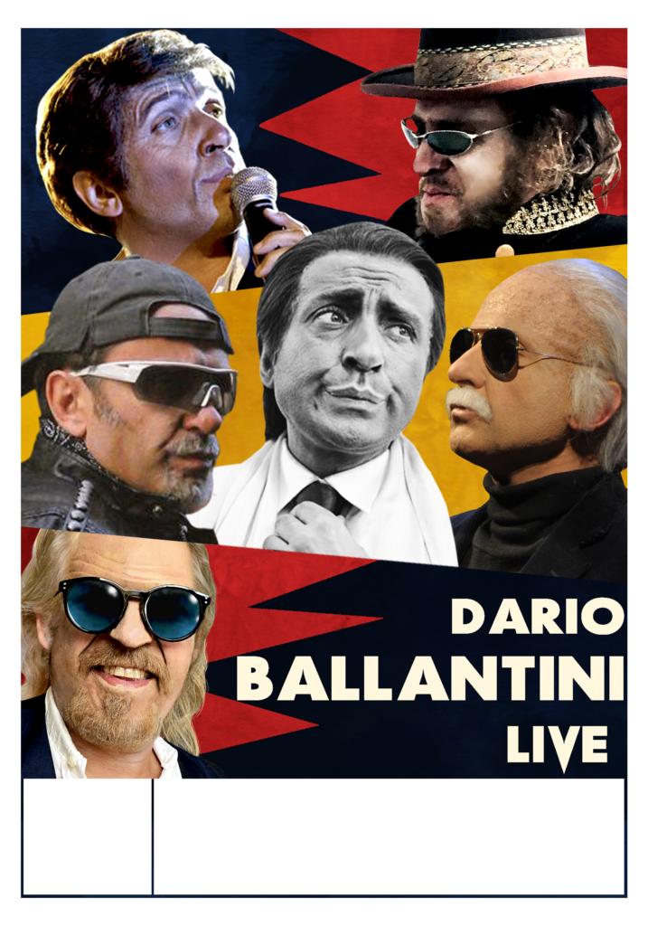 Dario Ballantini live a Effetto Venezia